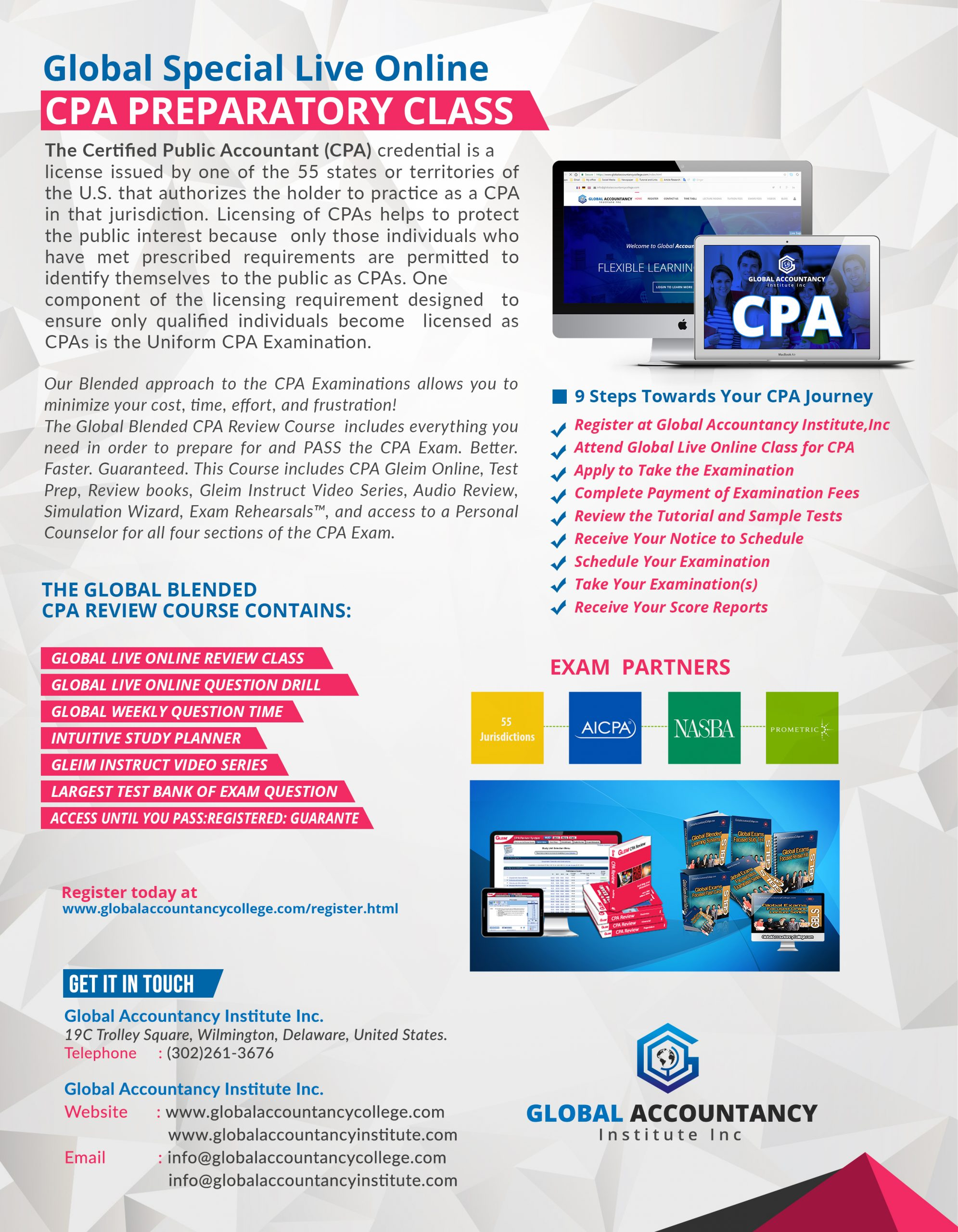 Global CPA Live Online Classes