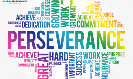 PERSEVERENCE IS REALLY ANOTHER WORD FOR SELF-RELIANCE